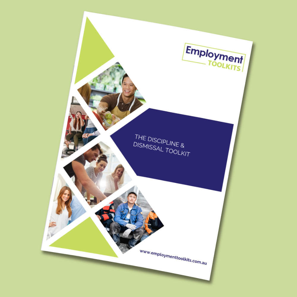 the discipline and dismissal employment toolkit