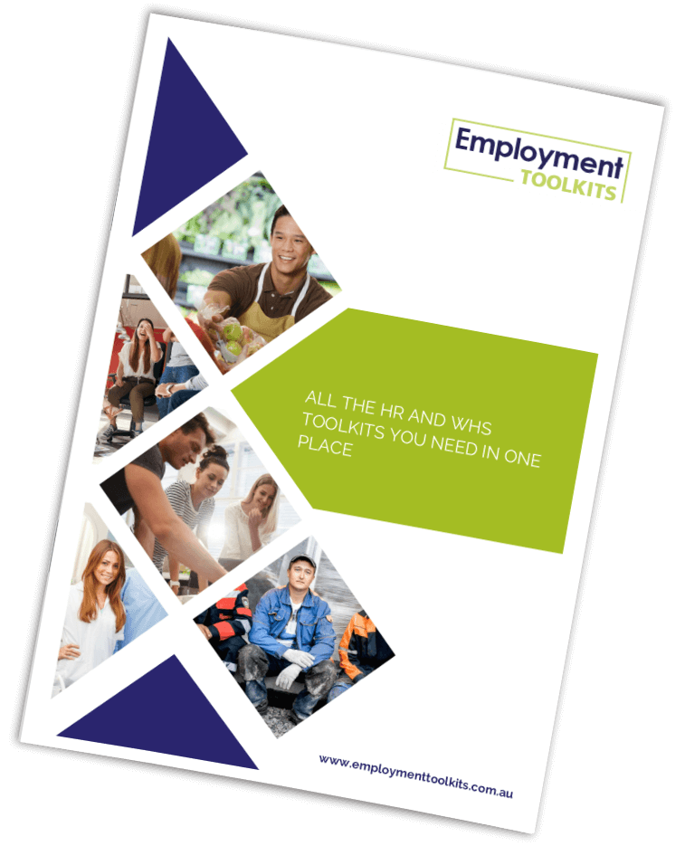 All the hr and whs employment toolkits