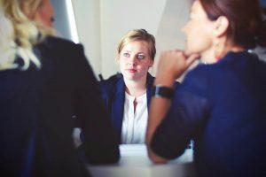 3 women in meeting